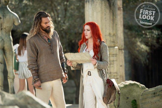 Aquaman és Mera közös kalandban vesz részt