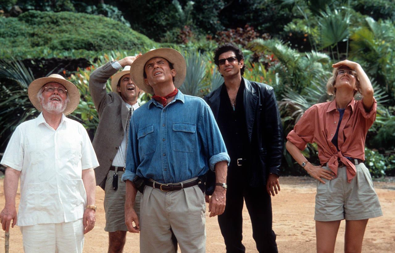 Laura Dern And Sam Neill In 'Jurassic Park'