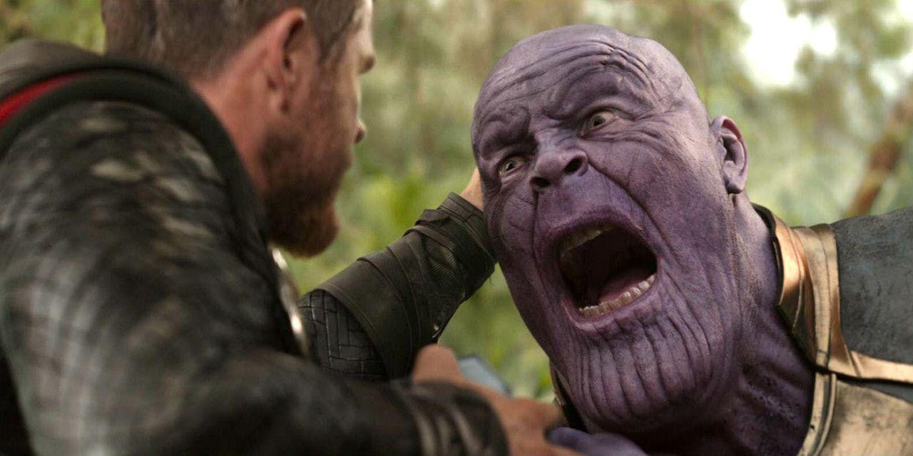 Thanos és Thor