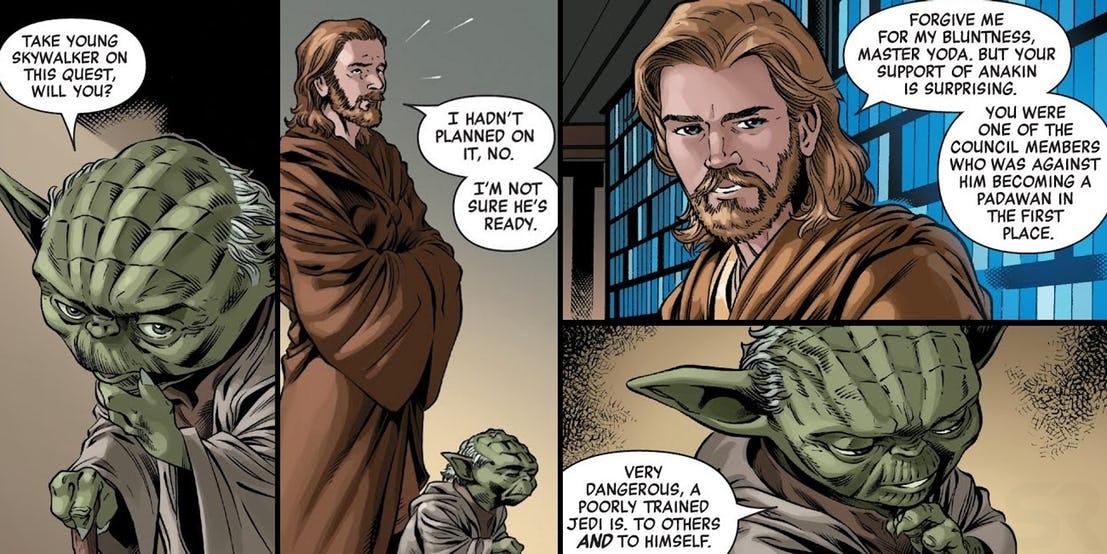 Star Wars Obi-Wan Kenobi Yoda