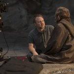 Rian Johnson Mark Hamill Star Wars