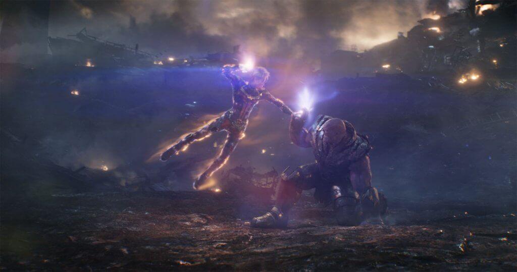 Thanos Marvel Kapitány